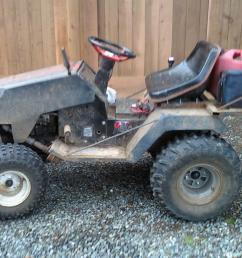 how to build a lawn tractor atv rack 100522 162032 [ 1024 x 768 Pixel ]