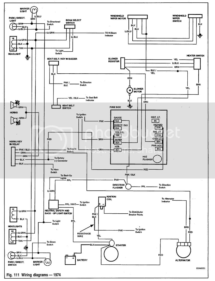 Wiring Diagram or Shop & Body Manual