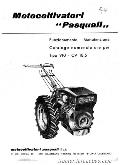 [Duda] ¿Pasquali 945?