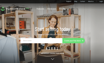 How to create a free online store