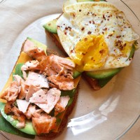 avocado toast two ways