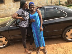 21 year old nigerian buys car for mum on her Birthday