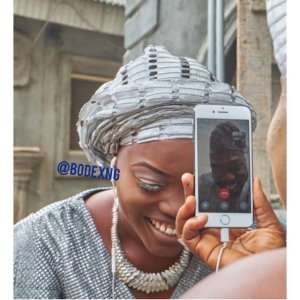 Lady gets married to her US based man via video call