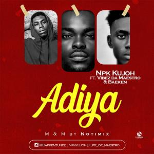 Adiya By NPK Kujoh ft Baeken and Vibez da maestro