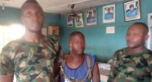 Three arrested for impersonating soldiers in Ogun State