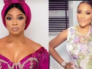 Popular On-Air Personality, Toke Makinwa, and her friend, Freda Francis' friendship may have hit the rocks.