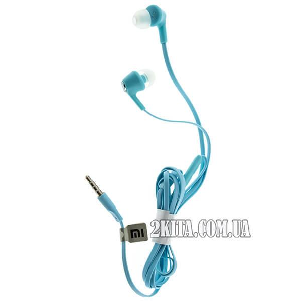 Наушники (гарнитура) Xiaomi Piston Youth Edition Blue 1dfd8216e823a