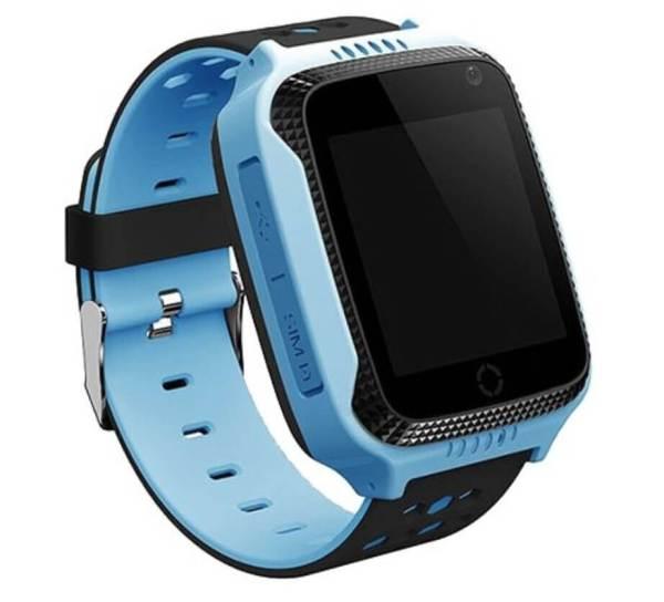 Детские смарт-часы с GPS трекером и фонариком G900A Blue
