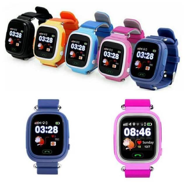 Детские GPS часы Smart Baby Watch Q90S Black