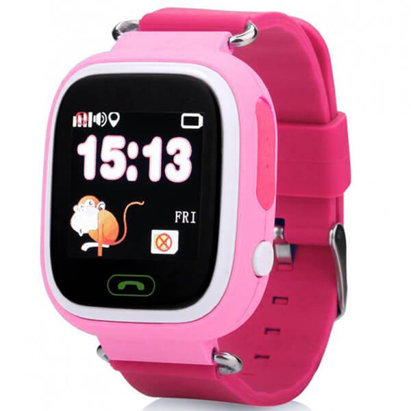 Детские GPS часы Smart Baby Watch Q90S Pink