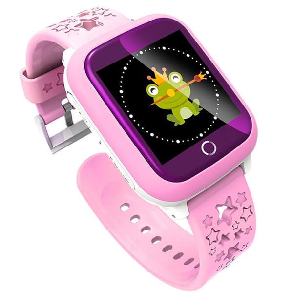 Детские Умные GPS смарт часы Smart Baby Watch DS 28 Pink