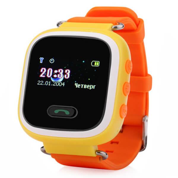 Детские смарт-часы с GPS трекером Smart Baby Watch Q60 Yellow
