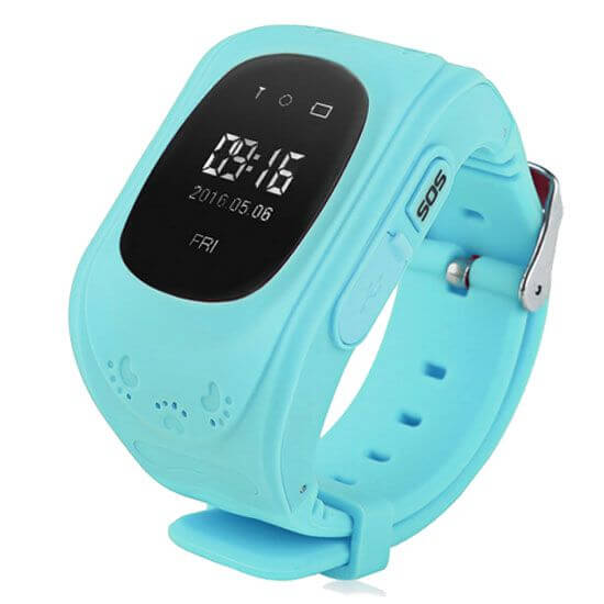 Детские Smart часы Baby watch Q50 0.96+GPS трекер Blue