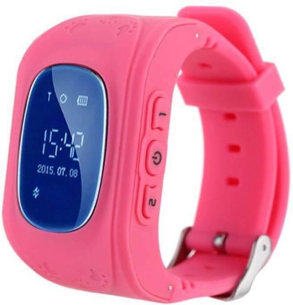 Детские Smart часы Baby watch Q50 0.96+GPS трекер Pink