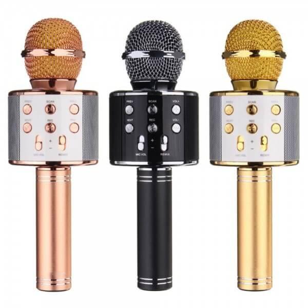 Беспроводной микрофон караоке bluetooth WS-858