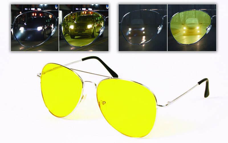 Антибликовые автомобильные очки антифары для водителя