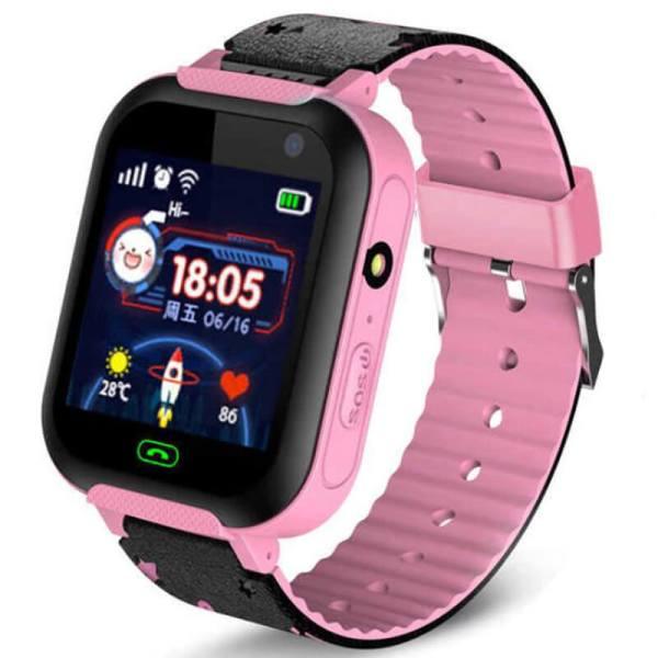 Детские Умные Смарт Часы Baby Smart Watch A25S Pink