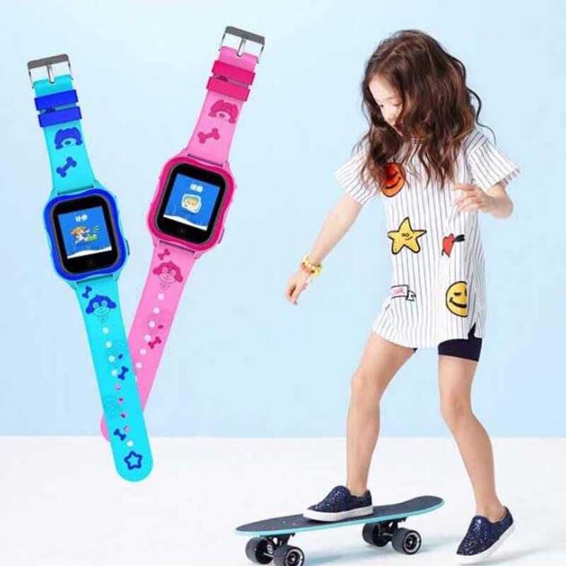 Детские умные часы с GPS Smart baby watch A32 водонепроницаемые c камерой