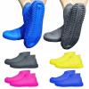 Силиконовые чехлы бахилы для обуви от дождя и грязи, размер M 35-39