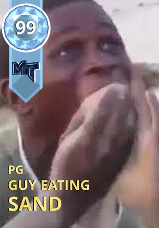 Guy Eating Sand : eating, Eating, Custom, 2KMTCentral