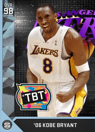 Kobe Bryant 2k Rating : bryant, rating, Bryant, MyTEAM, Diamond, 2KMTCentral