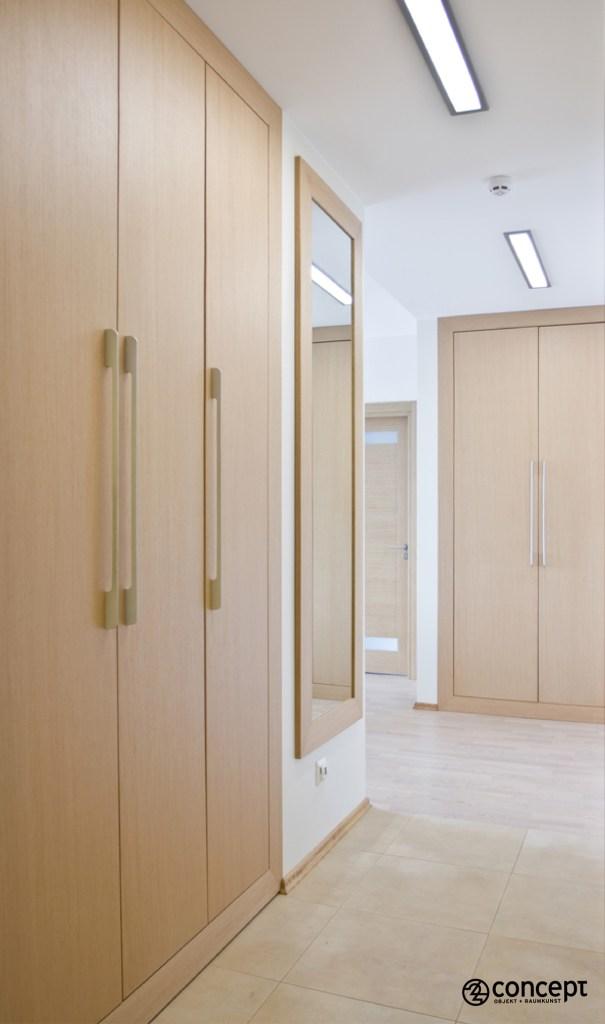 Holzspiegel und Holzstauräume nach Maß