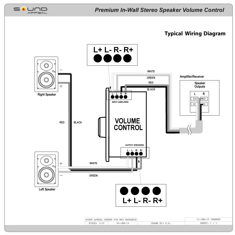 volume control wiring diagram