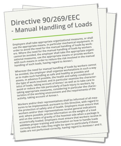Manual Handling Regulations Guide and Ergonomic Risk
