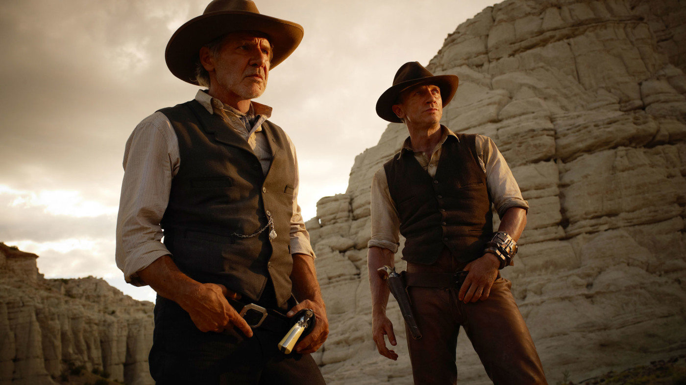 Image result for cowboys and aliens