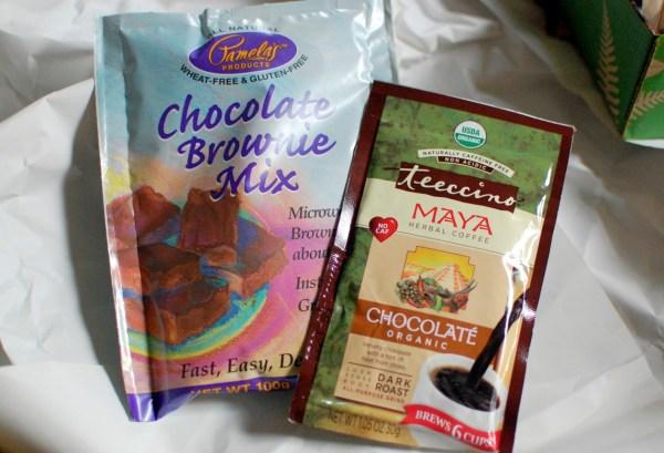 Brownies n' coffee.