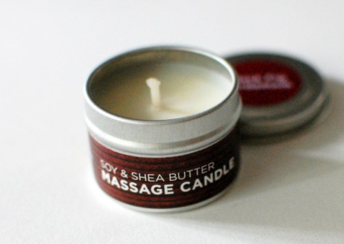 Massage candle?