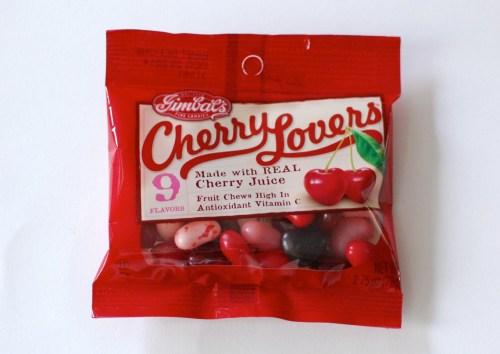 Chewy cherries.