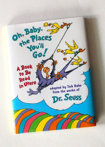 Baby's first Dr. Seuss book!