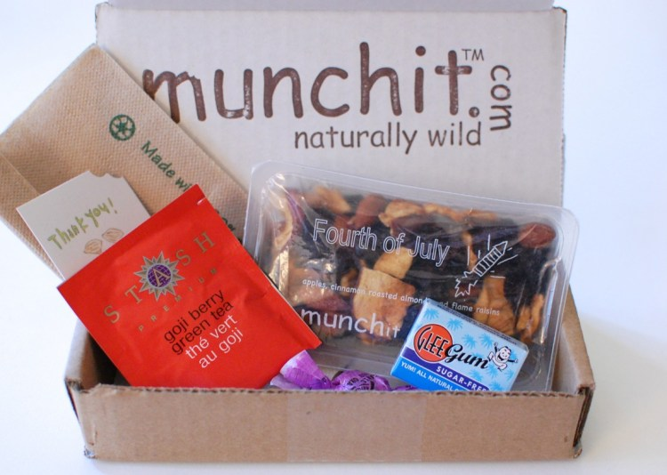 Munchit Subscription Box Review & Giveaway