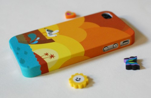My phone, all dressed up.