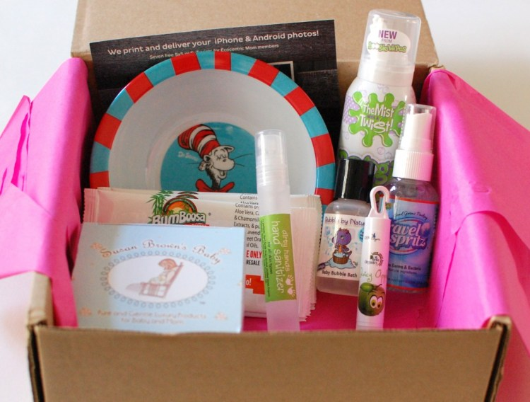 Ecocentric Mom Baby Box September 2013 Review & Discount