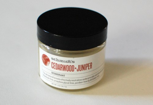 A jar of... deodorant?