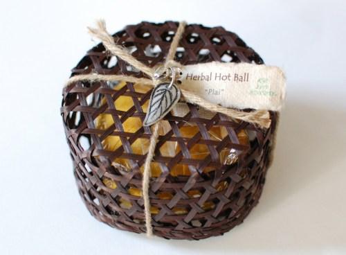 Herbal hot ball!