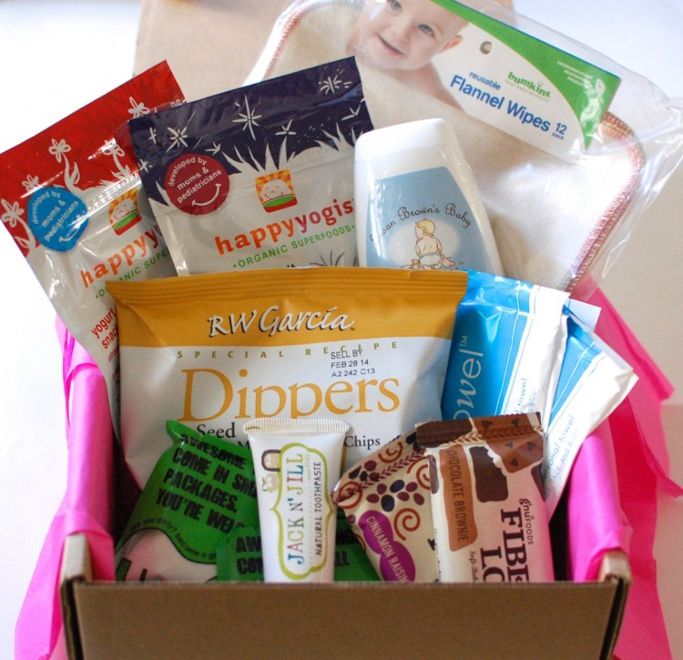"""Ecocentric Mom """"Baby"""" Box October 2013 Review & Discount Code"""