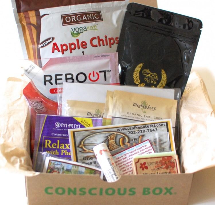 Conscious Box November 2013 Review & Code for FREE Box