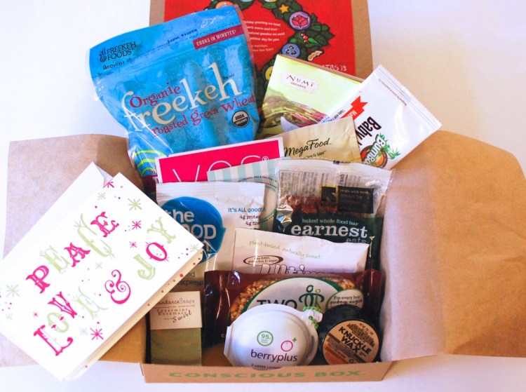 Conscious Box December 2013 Review & Code for Free Box!