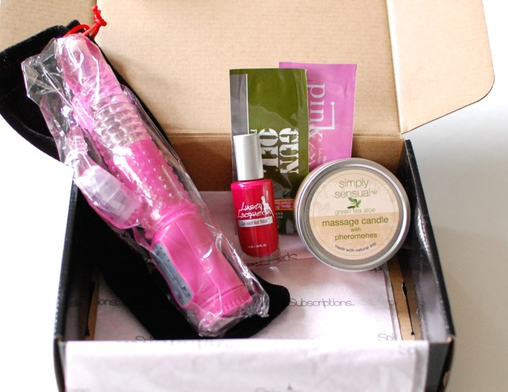 Spicy Subscriptions April 2014 Spice Box review