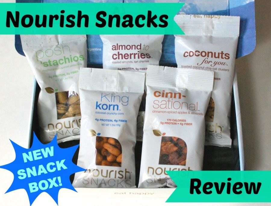 Nourish Snacks subscription box