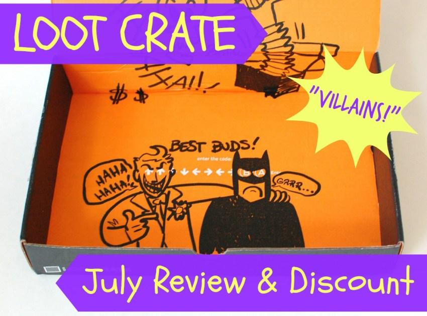 """Loot Crate """"Villians"""" box review"""
