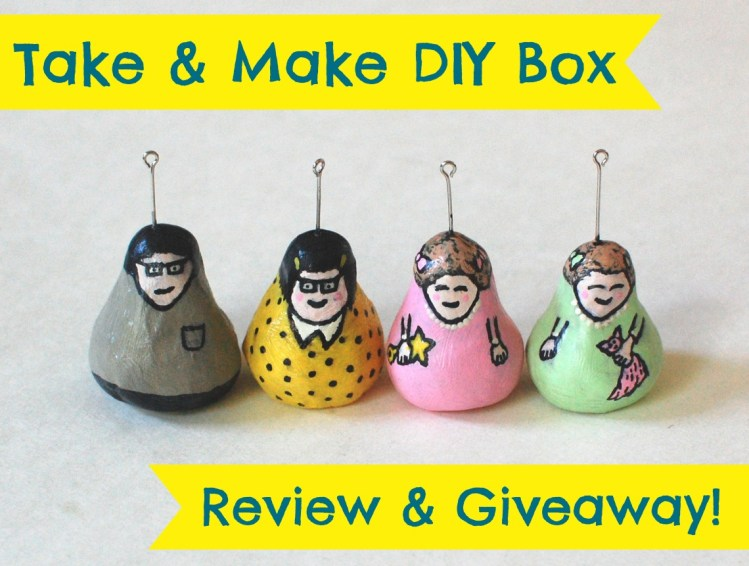 Take & Make DIY Matryoshka Doll Kit Review & Giveaway! Ends 7/29/14