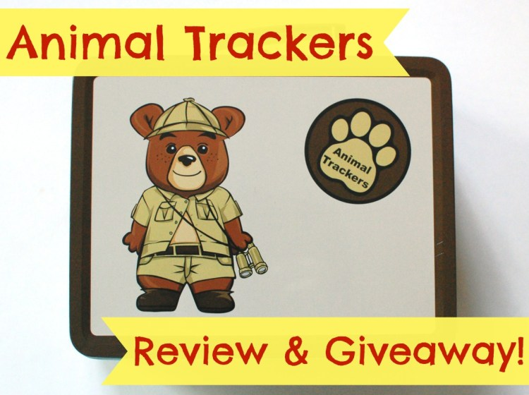 New Kid's Subscription Box! Animal Trackers Review & Giveaway! Ends 7/27/14