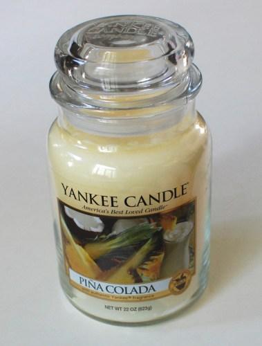 Yankee Candle Pina Colada Large Jar Candle