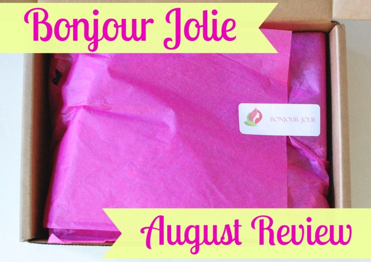 "Bonjour Jolie ""Travel the World"" August 2014 Review"