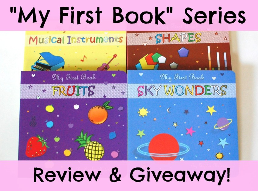 My First Book Series review & giveaway
