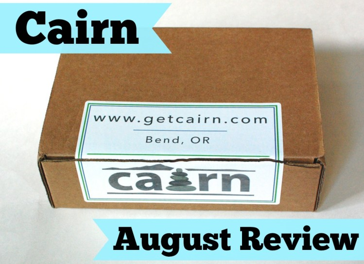 Cairn August  2014 Review – A Subscription Box for Outdoor Enthusiasts